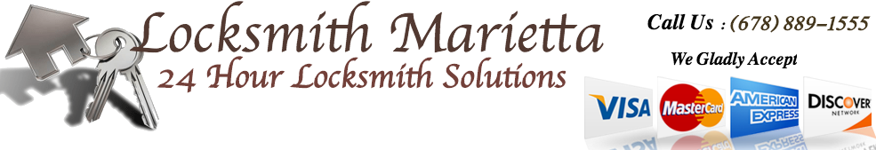Locksmith Marietta Logo
